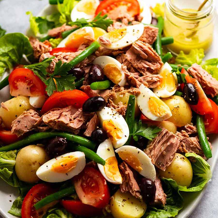 Nicoise Salad (French salad with tuna)